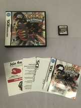 Pokemon -- Platinum Version (Nintendo DS, 2009) - CIB / Complete - Authe... - $109.24
