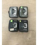4 Vtg For Parts Aiwa & RCA RP-1872A  HS-GS162 Portable Cassette Players ... - $25.00