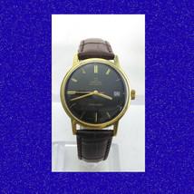 Vintage & Retro 14k Gold Omega SeaMaster Swiss Date Gents Wrist Watch 1970 - $1,052.02