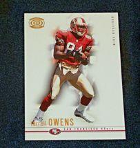 San Francisco 49er's Terrell Owens #81 WR Football Trading Cards AA-191804 Vinta image 6