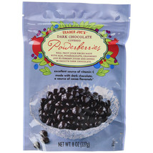 Trader Joe's Dark Chocolate Covered Powerberries...8 Oz. Bag (Pack Of 2) - $12.21