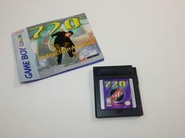 720° (Nintendo Game Boy Color, 1999) WITH MANUAL - $8.99