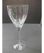 Lenox Cut glass wine Crystal Sea Swirl replacement signed - $16.13