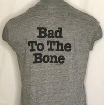 Vintage 1982 Bad to the Bone XL George Thorogood Tank Muscle T Shirt Sne... - $78.21