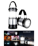 Portable Collapse Storm Tactical LED Lantern TacLight Essential Lamps AS... - $9.79