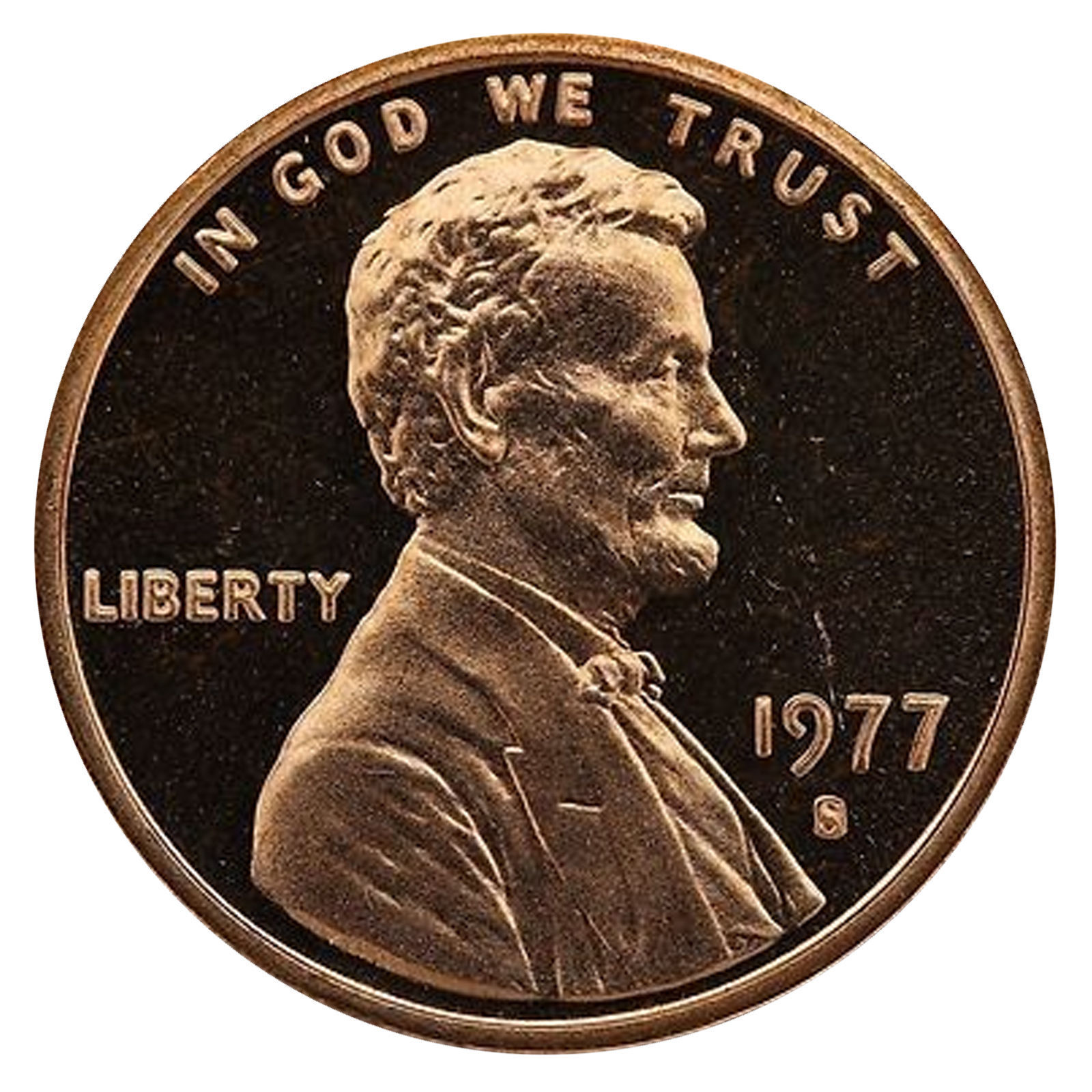 1977-S Lincoln Memorial Cent Penny Gem Proof US Mint Coin Uncirculated UNC image 1