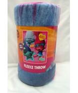 "Trolls Poppy,Branch,& Guy Diamond 45"" x 60"" Micro Raschel Throw Blanket-... - $49.49"