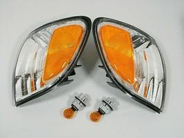 fits 00-04 Toyota Tundra TURN SIGNAL LIGHT LAMP w BULBS PAIR L & R Exclu... - $40.58