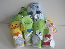BUNCHKIN Shower Sponges Towels Bathing Puppets Kids Animals Lot Of 17 New - $33.31