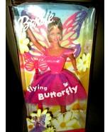 2000 Mattel Flying Butterfly Barbie w/Wings that Flutter New NRFB  - $19.75
