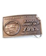 1993 Kansas S Miniera Antinfortunistiche Shoot Out Belt Buckle - $67.30