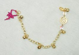 Pink Fairy Calling Gemstone Charm Bracelet - $16.00