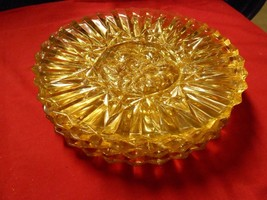"""Beautiful Set of 5 LUNCHEON Plates """"Yellow"""" Imperial ? - $10.11"""