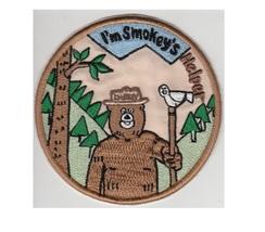 Smokey the Bear US Forest Service USFS I'm Smokey's Helper Patch 4.5 in   - $9.99