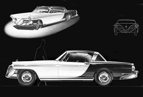 Primary image for 1954 Cadillac Die Valkyrie Concept Car - Promotional Poster