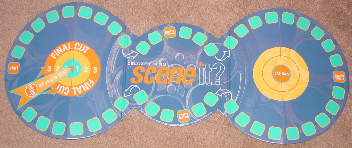 SCENE IT DVD GAME DELUXE EDITION 2004 MATTEL SCREENLIFE LIGHTLY PLAYED CONDITI image 5