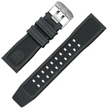 Luminox Watch Band Series 3050 Black Rubber 23mm Replacement Strap FP240... - $48.51