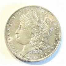 1884 O MORGAN SILVER DOLLAR  (BU)  MS++ #200105 - $74.25