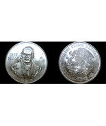 1977 Mexican 100 Peso World Silver Coin - Mexico Morelos - In Line 7s - $39.99