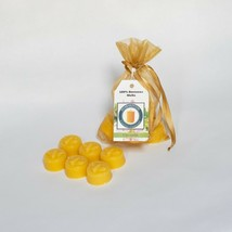 6 Piece Citronella Scented Beeswax Melts Hand Poured by Hubbardston Candle Co  - £6.35 GBP