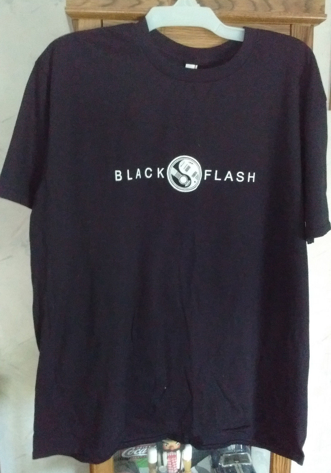 Black Flash CREW T-Shirt XL by Anvil