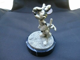 Extremely Rare! Walt Disney Minnie Mouse Golfing Tin Figurine LE of 950 ... - $366.30