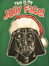 "Star Wars Fifth Sun T-Shirt Darth Vader Christmas ""This is my Jolly Face... - $22.99"