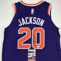 Autographed/Signed JOSH JACKSON Phoenix Purple Basketball Jersey JSA COA... - $124.99