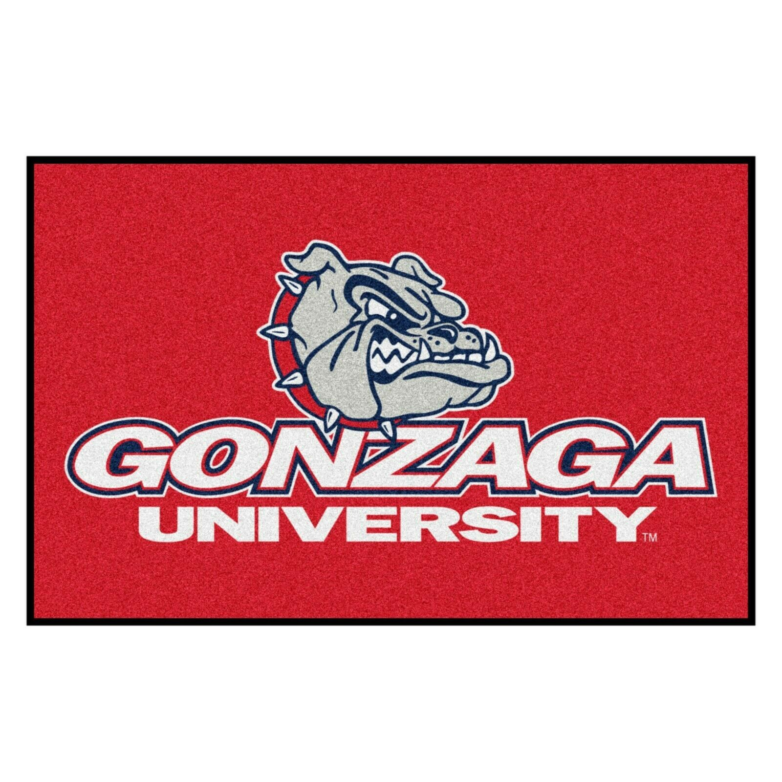 """Fanmats NCAA Gonzaga Bulldogs Red Starter Mat Area Rug 19""""x 30"""" 2-4 Day Delivery - $27.71"""