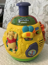 Disney Winnie the Pooh Play 'n Learn Spinning Top - VTech, Lights Music ... - $14.85