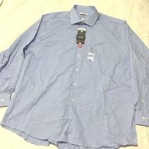 Van Heusen New $50 Men's Flex Collar Regular-Fit Dress Shirt Size 18   3... - $23.21