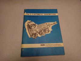 1971 Ford C-4 Automatic Transmission Training Handbook-Course 7511 - $14.80