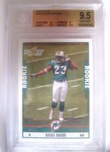 Lee Evans RC 2004 Topps Drafts Picks & Prospects Chrome GEM MINT Graded BGS 9.5 image 12