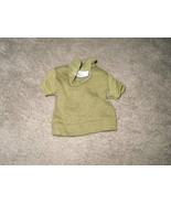 Mattel Barbie Doll Clothes - Ken Pak Green Polo Shirt - 1962 BW Label - $9.00