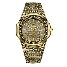 Onola Men's Vintage Homage Wrist Watch ON3808 (Gold) - $32.00