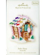 2007 Hallmark Bake Shop Noelville 2nd in Series Light-up Gingerbread House - $7.91