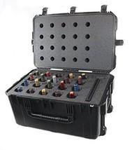 CasePro CP-WINE-12B 12 Bottle Wine Carrier with Wheels, Polypropylene/Hi... - $419.49