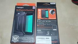 Apple iPhone 6S plus/6 Plus Spigen Capsule Ultra Rugged Black Protective Case - $6.01