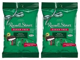 Russell Stover Chocolate Sugar Free Mint Patties 2 Bag Pack - $11.73