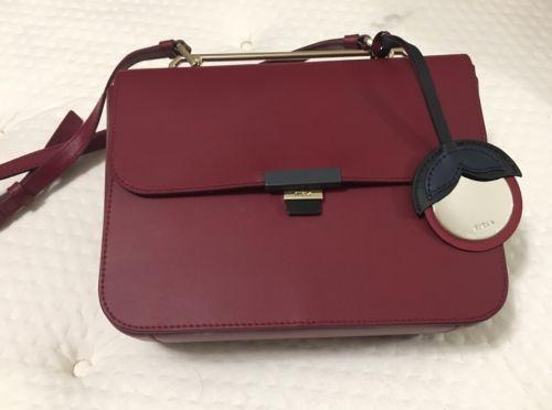 beb649dee Woman crossbody bag FURLA ELISIR Small red and 50 similar items. 12