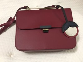 Woman crossbody bag FURLA ELISIR Small red leather shoulder Bag, CILIEGI... - $354.24