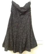 AMERICAN EAGLE Junior Womens Lined Strapless Gray Dress sz 0 EUC - $17.95