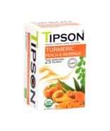 Tipson Ceylon tea - Organic Turmeric Peach & Moringa 25 tea bags - $9.80