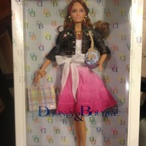 Dooney & Bourke 2006 Barbie Doll w/ D&B Purse Pink Label Ltd. NEW Mint C... - $72.39