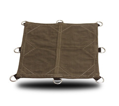 18oz Heavy Duty Canvas Tarp with 3'D-Rings -Mad... - $51.41 - $369.31