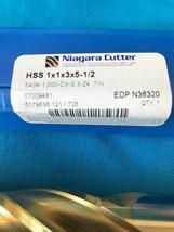 Niagra Cutter Drill Bit Hss 1x1x3x5-1/2 N363320 5079636 New Free Ship - $173.25