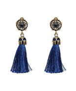 JURAN 2017 Vintage Design Colorful Tassel Statement Earring 2017 New Fas... - $182,74 MXN