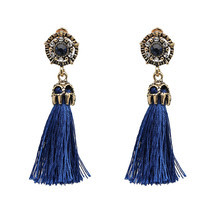 Ign colorful tassel statement earring 2017 new fashion rope fringe earrings party girls thumb200
