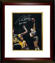 Rick Barry signed Golden State Warriors 8x10 Photo HOF 1987 Custom Frame... - £67.96 GBP