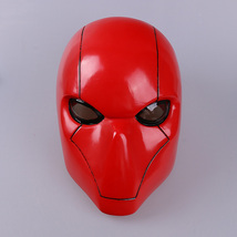 Red Hood Adult Batman Jason Todd Hush Wayne Cosplay Full Head Helmet PVC Mask - £33.43 GBP+